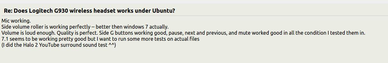 Logitech G930 and Ubuntu 15 10 / 16 04 · veloc1ty